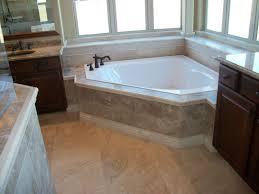 travertine tile tub surround. Interesting Tile Travertine Tile Corner Garden Tub For Surround V
