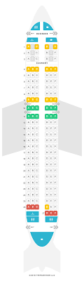 Seat Map Airbus A320 320 Turkish Airlines Find The Best