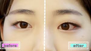 monolid eyes can look puffy with the wrong makeup technique so how do you define them the right way saerom suggests using only matte eyeshadow on your