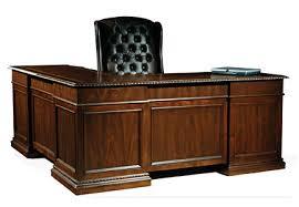old office desk. Old World Walnut Executive Office L Desk