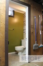 basement bathroom before and after. basement bathroom remodel before and after h