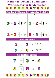 Subtraction Worksheets Printable and Interactive