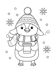 If, indeed, you are looking for those kinds of coloring pages, then you don't have to look. 80 Best Winter Coloring Pages Free Printable Downloads
