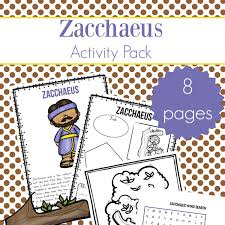 Some of the coloring pages shown here are zacchaeus coloring childrens ministry deals click on the coloring page to open in a new window and print. Zacchaeus Story For Kids Free Zacchaeus Printables Packet For Elementary Students