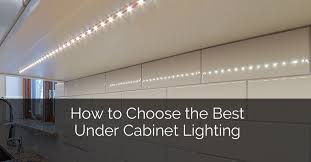 Backsplash Lighting Beauteous How To Choose The Best Under Cabinet Lighting Home Remodeling
