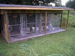 outdoor dog pen floors
