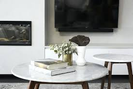 round marble coffee table ideas