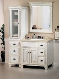 linen closet in bathroom. Bathroom. Bathroom Design And Decoration Using Cream Wall Paint Including White Wood Single Linen Closet In N