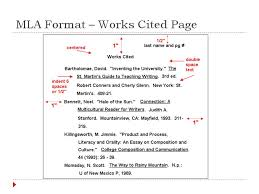 mla format works cited page template bibliography for mla desiflora