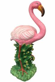 20 flamingo statue natural pink only