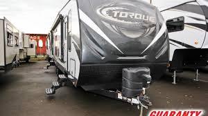 2018 heartland torque 285 toy hauler travel trailer video tour guaranty