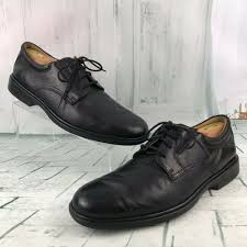 details about bostonian signia 26080 men s soft oxfords leather dress shoes size 10 5 m