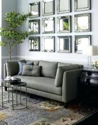 individual mirrors on wall art above sofa ideas for decorating behind the