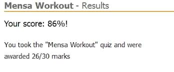 Mensa Iq Test Score Chart Have You Tried The Mensa Workout Edit Try This Iq Test