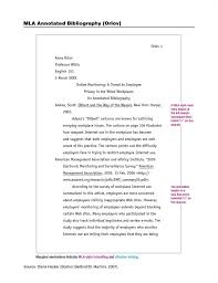 Free Annotated Bibliography Template Word