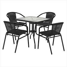 modern metal outdoor furniture. Modern Metal Outdoor Furniture » Really Encourage Flash 28 Square Glass Table With Rattan R