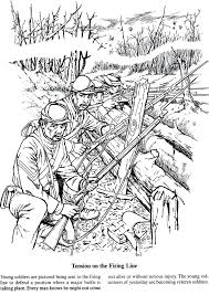 Coloring Pages Soldier Coloring Pages Free A Soldiers Life In The