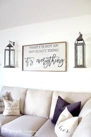 farmhouse style family room sconces living wall decor diy modern