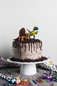 Chocolate Oreo Dinosaur Cake Flourishing Foodie