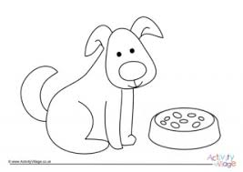 Dogs coloring pages for kids are images of devoted canine friends of people. Year Of The Dog Colouring Pages