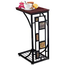 dining room side table. Kleeger Sofa Side Table With Cup Holder: Modern Coffee/Snack For Living Room Dining R