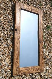 wood mirror frame. A Full Length Mirror Made With Reclaimed Timber Wood Frame D