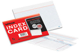 3x5 Cards Advance Index Cards Biggest Online Office Supplies Store