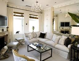 french living room furniture decor modern:  living room wall plus white fabric curtain along with white fabric curtain also square black