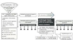 Exercise Stress Test Mets Chart Study Flow Chart Mets Metabolic Syndrome 6mwt 6 Min Walk