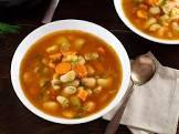 butter bean veggie soup