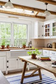Beautiful Rustic Kitchen With Natural Lights