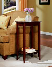 amazoncom dhp rosewood tall end table kitchen  dining