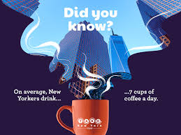 41 flavoured coffees and specialty coffees have increased consumption. Fun Facts Of New York Fun Facts Fun Facts