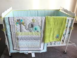 elephant baby bedding set 8 pieces baby bedding set embroidery elephant bird baby crib bedding set elephant baby bedding set gray elephant nursery