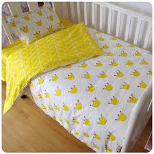 baby crib bedding kit 3 pcs cartoon 100 cotton pillowcase duvet cover bed sheet