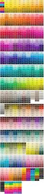 Pantone Matching System Color Chart Color Matters