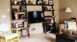 entertainment center with computer desk awe simple printer shelf home interior 29