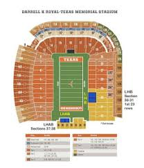 Dkr Texas Memorial Stadium Seating Chart The University Of Texas Longhorn Alumni Band The Blast