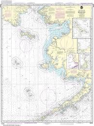 Noaa Nautical Chart 16006 Bering Sea Eastern Part St Matthew Island Bering Sea Cape Etolin Achorage Nunivak Island