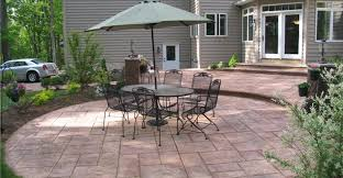 colored concrete patios concrete patios architectural concrete design levittown pa