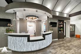 office reception interior. Decoration: Office Reception Interior Design Curved And Open Desk Dental By Inc Wall I