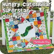 Hungry Caterpillar Superstar Quilt Kit<BR>Featuring The Very ... & Hungry Caterpillar Superstar Quilt Kit<BR>Featuring The Very Hungry  Caterpillar by Eric Carle Adamdwight.com