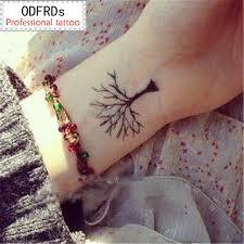 Vodotěsné Dočasné Tetování Tetování Henna Falešné Flash Tetování