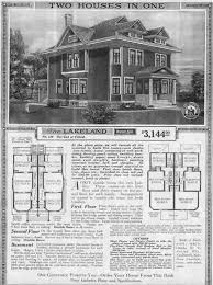 larger view of catalog page with floor plans