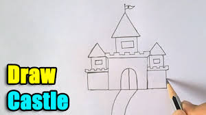 Small Picture How to Draw Castle for Kids YouTube