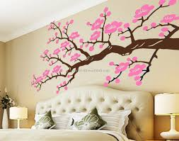 beautiful cherry blossom flower wall decals