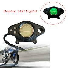 <b>DC 12V Motorcycle</b> 12000RPM LCD Digital <b>Odometer Speedometer</b> ...