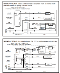 broan bathroom fan wiring diagram broan wiring diagrams