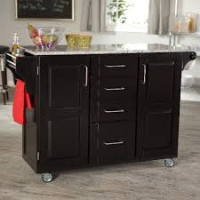 kitchen island with wheels table locking for white vintage islands center round rolling cart casters full size middle counter open shelves decorating ideas