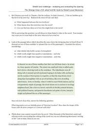 dr jekyll and mr hyde essay questions  dr jekyll and mr hyde essay topics writing assignments